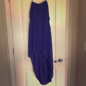 Strapless Bcbg dress